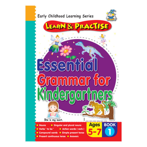 Activity Book 5 -7 Essential Grammar BK 1 - Yakedas Party and Giftware