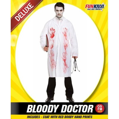 Adult Bloody Doctor - Yakedas Party and Giftware