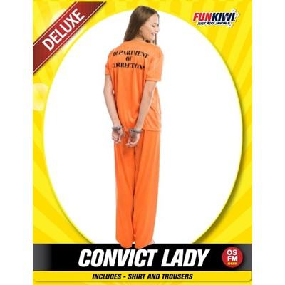 Adult Convict Lady - Yakedas Party and Giftware