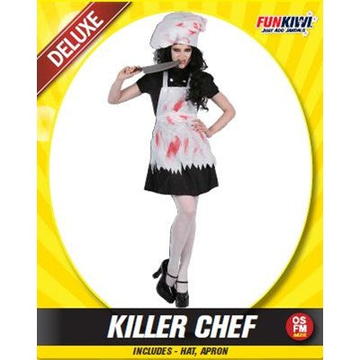 Adult Killer Chef - Yakedas Party and Giftware
