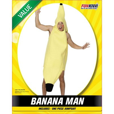 Banana Man - Yakedas Party and Giftware