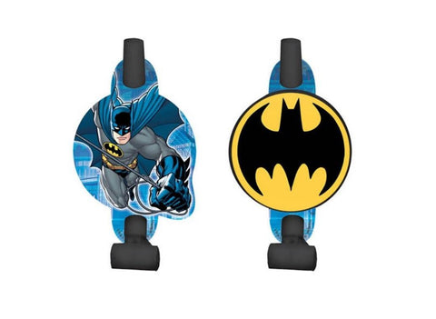 Batman Party Blowouts - Yakedas Party and Giftware