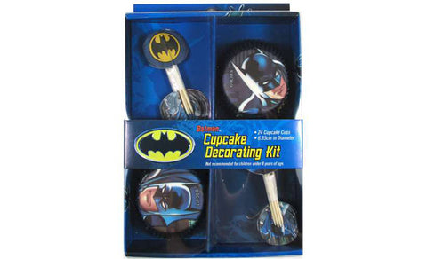 Batman Party Cupcake Kit - Yakedas Party and Giftware