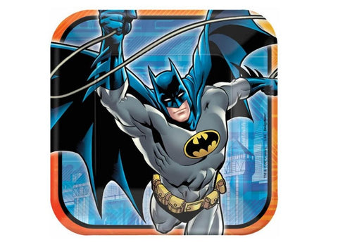 Batman Party Dinner Plates