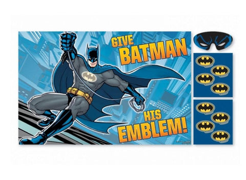 Batman Party Game - Yakedas Party and Giftware