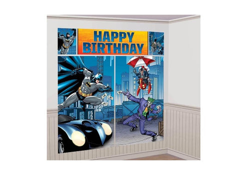Batman Party Wall Decorating Kit