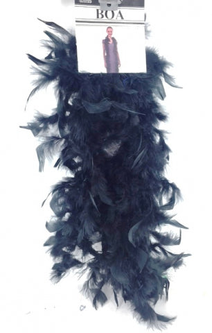 40G Boa Black (2Yards) - Yakedas Party and Giftware