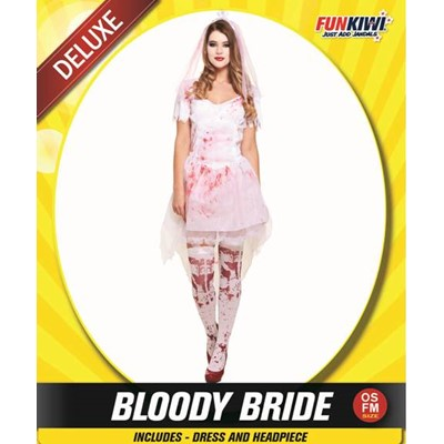 Adult Bloody Bride - Yakedas Party and Giftware