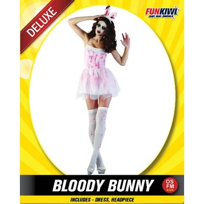 Adult Bloody Bunny - Yakedas Party and Giftware