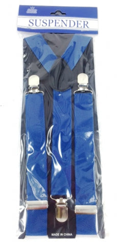 Adult Suspender Blue - Yakedas Party and Giftware