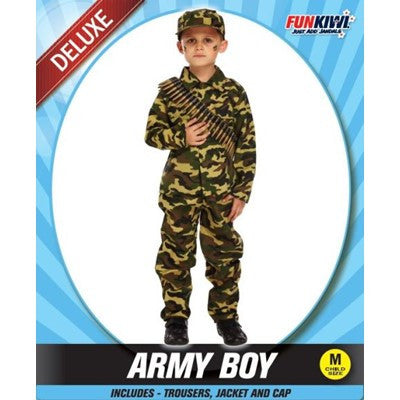 Child Army Boy