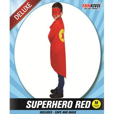 Child Superhero Red