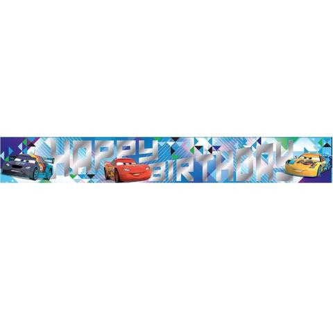 Disney Car Party Banner - Yakedas Party and Giftware