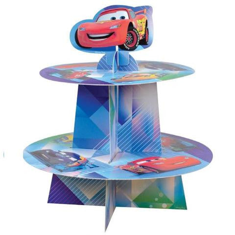 Disney Car Party Cupcake Stand