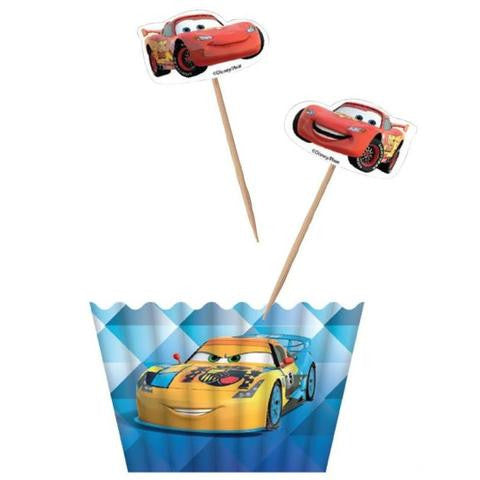 Disney Car Party Cupckae Kit - Yakedas Party and Giftware
