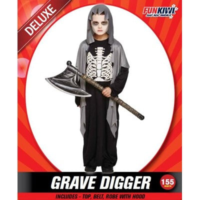 Child Grave Digger 155cm - Yakedas Party and Giftware