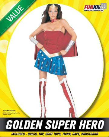 Golden Super Hero - Yakedas Party and Giftware