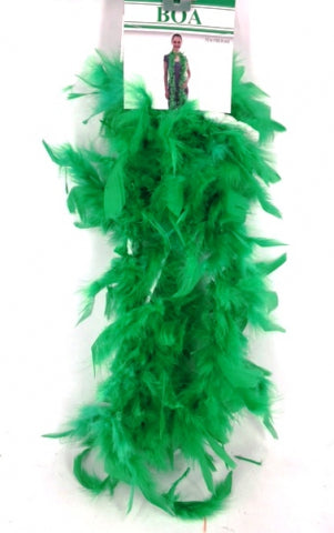 40G Boa Green (2Yards) - Yakedas Party and Giftware