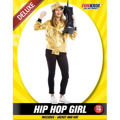 Hip Hop Girl - Yakedas Party and Giftware