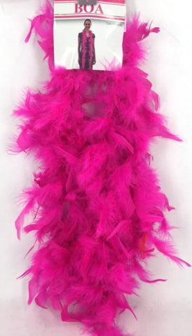 40G Boa Hot Pink (2Yards) - Yakedas Party and Giftware