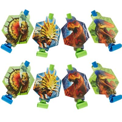 Jurassic World Party Blowouts - Yakedas Party and Giftware