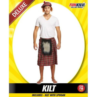 Kilt With Sporran - Yakedas Party and Giftware