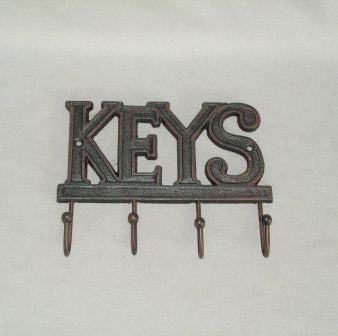 Keys Hook - Yakedas Party and Giftware