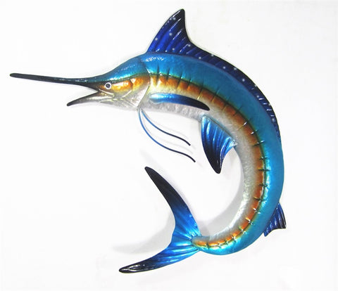 Marlin – Metal Wall Hanging - Yakedas Party and Giftware