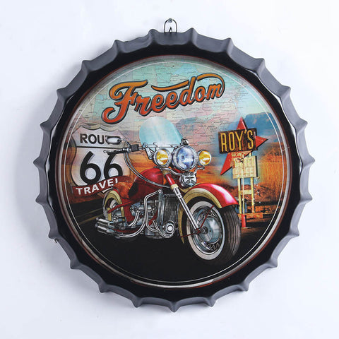Motor Bike Bottle Top