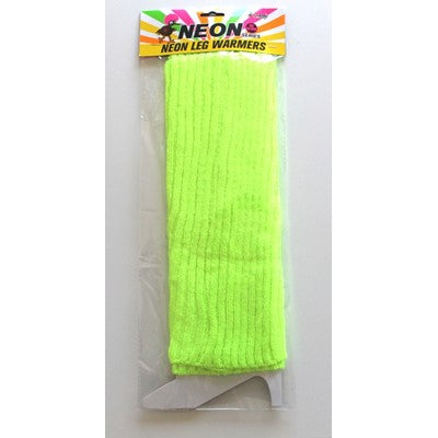 Neon Leg Warmer Yellow
