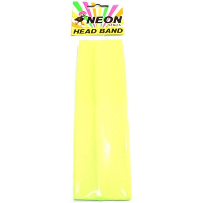 Neon Head Band Green