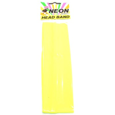 Neon Head Band Yellow - Yakedas Party and Giftware