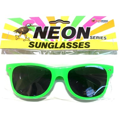 Neon Sunglasses Green - Yakedas Party and Giftware
