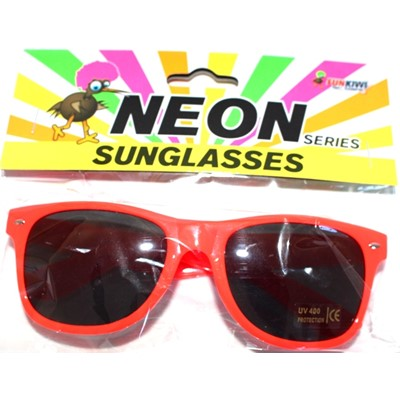 Neon Sunglasses Orange - Yakedas Party and Giftware