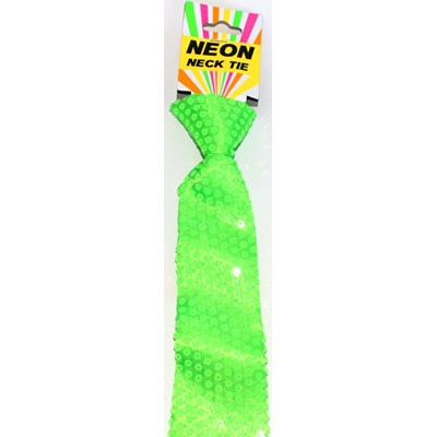Neon Tie Green - Yakedas Party and Giftware
