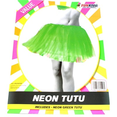 Neon Tutu Green - Yakedas Party and Giftware
