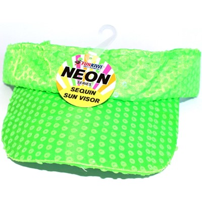 Neon Visor Green - Yakedas Party and Giftware