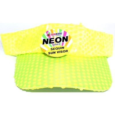 Neon Visor Yellow - Yakedas Party and Giftware