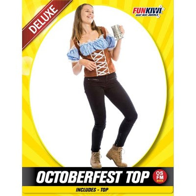 Oktoberfest Top - Yakedas Party and Giftware