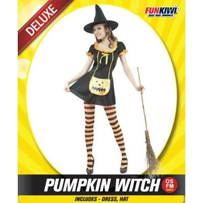 Pumpkin Witch - Yakedas Party and Giftware