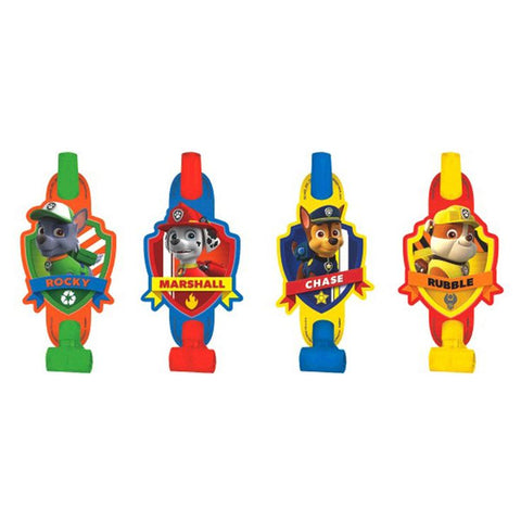 Paw Patrol Party Blowouts - Yakedas Party and Giftware