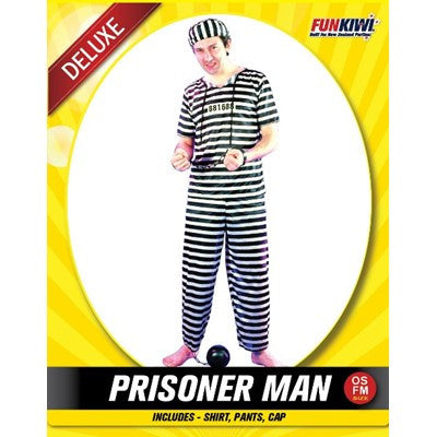 Prisoner Man - Yakedas Party and Giftware
