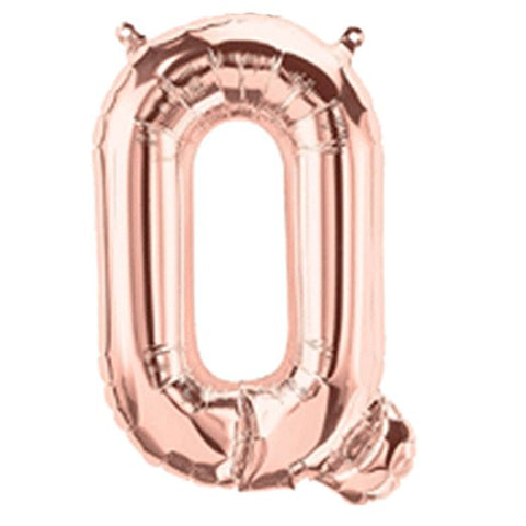 Letter Q Foil Balloon - Yakedas Party and Giftware