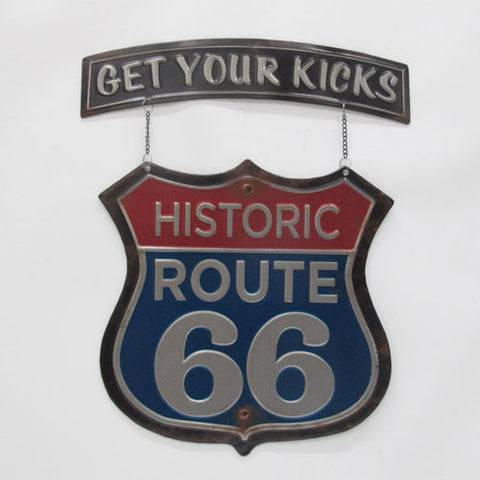 Route 66 Sign - Yakedas Party and Giftware