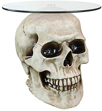 Skull table - Yakedas Party and Giftware