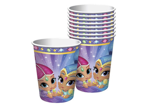 Shimmer & Shine Party Cups - Yakedas Party and Giftware