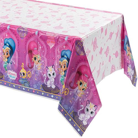 Shimmer & Shine Party Table Cover - Yakedas Party and Giftware