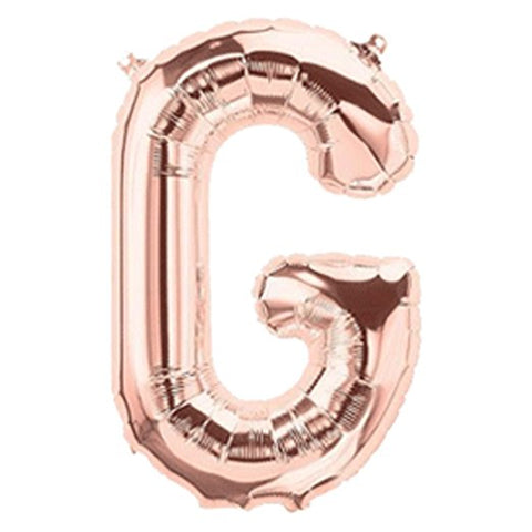 Letter G Foil Balloon - Yakedas Party and Giftware