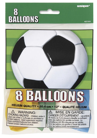 Soccer Party Balloons - Yakedas Party and Giftware