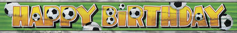 Soccer Party Banner - Yakedas Party and Giftware